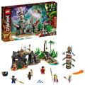 LEGO NINJAGO The Keepers' Village 71747 LEGO Set (632 Pieces), Multicolor