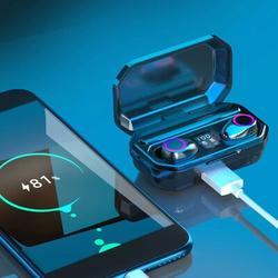 Genkent 5.0 Bluetooth Earphone Wireless, Size 1.4 H x 3.2 W x 5.3 D in | Wayfair A-70037-0BK