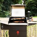 "Z Grills 46"" BBQ Wood Pellet GrillCast Iron in Gray, Size 49.0 H x 46.0 W x 21.0 D in | Wayfair ZPG-600D3E"