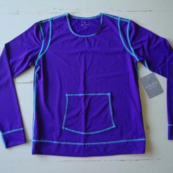 Athleta Swim | Nwt Athleta Summer Shade Tee Rash Guard Small | Color: Purple | Size: S