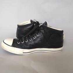 Converse Shoes   Converse All Star Chucks Black Leather Men'S   Color: Black   Size: 11