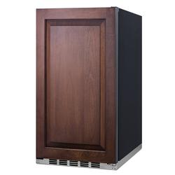 """Summit FF195IF 19""""W Undercounter Refrigerator w/ (1) Section & (1) Solid Door - Panel Ready, 115v"""