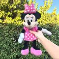 Disney Toys | Minnie Mouse Stuffed Animal Plush Toy | Color: Black/Pink | Size: One Size