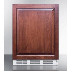 "Summit FF61WBIIFADA 24""W Undercounter Refrigerator w/ (1) Section & (1) Solid Door - Panel Ready, 115v"