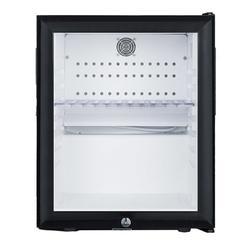 Summit MB13G 0.9 cu ft Countertop Minibar Refrigerator w/ Glass Door - Black, 115v