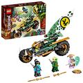 LEGO NINJAGO Lloyd's Jungle Chopper Bike 71745 Building Kit; Ninja Bike Toy Featuring NINJAGO Lloyd and NYA Minifigures, New 2021 (183 Pieces); Top Toy for Kids Who Love Action-Packed Creative Play