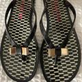 Coach Shoes   Coach Slippers Size 7b   Color: Black/Gold   Size: 7