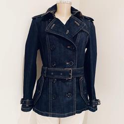 Burberry Jackets & Coats   Burberry Brit Brauton Denim Trench Jacket.   Color: Blue   Size: M