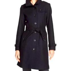 Burberry Jackets & Coats   Burberry Brit Black Rushfield Wool Coat   Color: Black   Size: 4