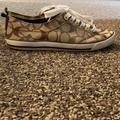 Coach Shoes   Coach Converse Style Canvas Shoes   Color: Brown   Size: 6
