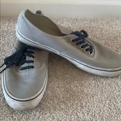 Vans Shoes | Gray Vans | Color: Blue/Gray | Size: 11
