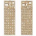 Baguette Earrings - Metallic - Fendi Earrings