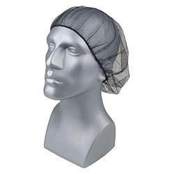 """Condor Nylon/Polyester, Hairnet, 24"""" Diameter, Size 24"""", PK 100 24"""" Nylon/Polyester Black 29JW48-1 Each"""