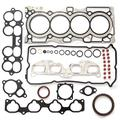 cciyu Engine Head Gasket Set Bolts Kit Exhaust Intake Valves fit for N-issan Sentra 4-Door 2.5L SE-R Engine Sealing Parts