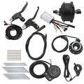 Bike Hub Motor Kit, 36V 250W Noise-Free Wheel Hub Motor E‑Bike Conversion Kit with KT‑900S Meter for 26in 12G Wheel(Precursor)