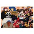 Ponedrved Ranma 1/2 1000 Piece Fun Jigsaw Puzzle, Stress Relief Puzzles