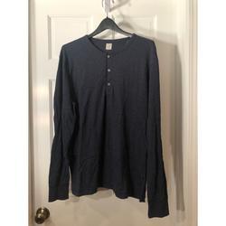 J. Crew Shirts   Jcrew Crewneck Long Sleeve Shirt   Color: Blue   Size: L