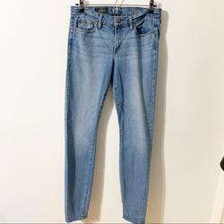 J. Crew Jeans   J. Crew Classic Toothpick Denim Jeans C2734 Light   Color: Blue   Size: 28