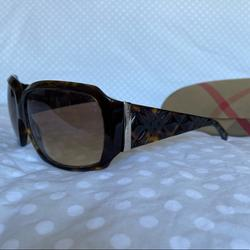 Burberry Accessories | Burberry Sunglasses Tortoise Shell With Case | Color: Brown/Gold | Size: Os