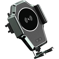 Wireless Car Charger Mount,10w Qi Fast Charging Auto Clamping Wireless Charging Car Mount, Windshield Dash Air Vent Android Phone Holder Compatible iPhone 11/11 Pro/xs Max/Xs/Xr/X/8,Samsung S10/S9/S8