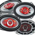 """2X Soundxtreme ST-680 5""""x7"""" / 6x8 in 3-Way 350 Watts Coaxial Car Speakers 4-Ohm and 2X Soundxtreme ST-694 6""""x9"""" 4-Way 520 Watts PEI Dome Tweeter Coaxial Car Audio Speakers"""