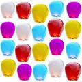 20 packs of multi-color Chinese lanterns release sky lanterns in the sky. 100% biodegradable paper lanterns are suitable for parties, birthdays, events, weddings, and New Years. (20pack Multi-colored)