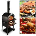 Tengchang Outdoor Pizza Oven Wood Fire Portable Pizza Maker Family Camping Cooker