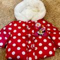 Disney Jackets & Coats   Baby Girl Minnie Mouse Parka   Color: Pink/White   Size: 6mb