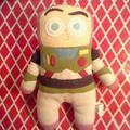 Disney Toys | Disney Toy Story Buzz Lightyear Plush | Color: White | Size: Stuffed Animal