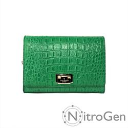 Kate Spade Bags | Kate Spade Harwood Pl Fiona Leather Flap Crossbody | Color: Green | Size: Os