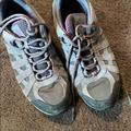 Columbia Shoes   Columbia Waterproof Hiking Shoes.   Color: Gray/Purple   Size: 9