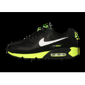 Rétro-Running Nike Air Max 90 Homme Noire Hot Lime