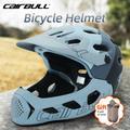 Cairbull – casque de vélo complet pour hommes et femmes, en moule, pour vtt, cyclisme tout-terrain,