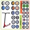 Pièces de rechange pour roues de Scooter avec roulements, accessoires 2, 100mm, 110mm