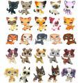 LPS CAT – Figurine animaux domestiques mignons,statuettes, jouets pour enfants, chien danois, chat