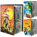 Album de jeu Pokemon EX GX à collectionner, 240 pièces, cartes de commerce, dessin animé, capacité