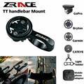 ZRACE – support de guidon pour ordinateur, noir, pour caméra iGPSPORT Garmin Bryton GoPro CATEYE