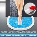 Bande de retenue d'eau pour porte de salle de bain, machine à laver, seuil de douche pliable,