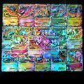 60 pièces/boîte Cartes Pokemon Français MÉGA EX Flash Boîte Pikachu Cartes Flash Collection Cadeau