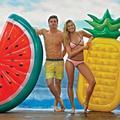 Rooxin – matelas flottant gonflable pour piscine géante, anneau de natation, ananas, pastèque,