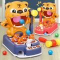 Jouets éducatifs interactifs pour enfants, apprentissage précoce, Puzzle Parent-enfant, mignon tigre