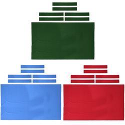 Feutre professionnel pour Table de billard de 9 pieds + 6 bandes en feutre, tissu pour Snooker,