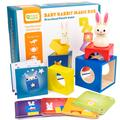 Puzzle éducatif en bois, blocs à assembler, pour enfant, jouet créatif, méthode Montessori