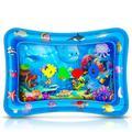 Tapis de jeu d'eau gonflable multifonction pour bébé, coussin créatif pour activités sensorielles,