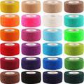 12 rouleaux de ruban adhésif pour le Sport, 2.5cm x 4.5m, bande adhésive, bande adhésive, bande