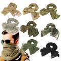 KeffIyeh – foulard tactique de Camouflage militaire, écharpe de cou en maille, foulard de visage de