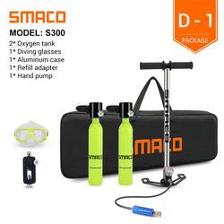 SMACO — Mini bouteille de plongée sous-marine snorkeling, cylindre d'air sous pression d'une