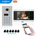 Jeatone – visiophone filaire 960P Tuya WiFi, interphone vidéo avec caméra, clavier à Code/cartes