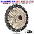 SUNSHINE – pignon de Cassette vtt, 8 9 10 11 12 vitesses 32/36/40/42/46/50/52T, pour vélo de