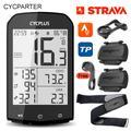 Compteur de vélo GPS sans fil ANT + Strava, compteur de vitesse, odomètre, ordinateur pour cyclisme
